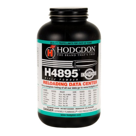 Image for Hodgdon H4895 Smokeless Powder 1 Lb