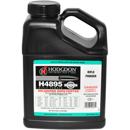 Image for Hodgdon H4895 Smokeless Powder 8 Lbs