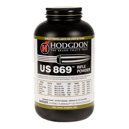 Hodgdon US 869 Smokeless Powder 1 Lb