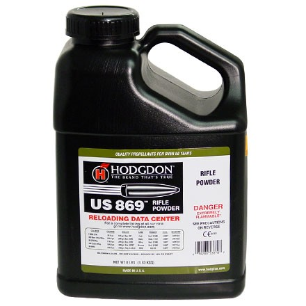 Hodgdon US 869 Smokeless Powder 8 Lbs