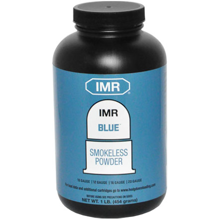 Hodgdon IMR Blue Smokeless Powder 1 Lb