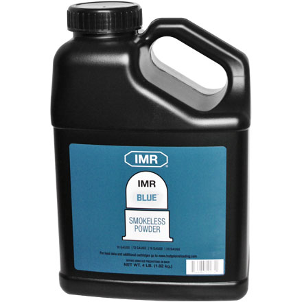 Hodgdon IMR Blue Smokeless Powder 4 Lb