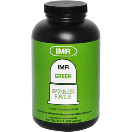 Hodgdon IMR Green Smokeless Powder 14 oz