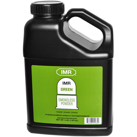 Image for Hodgdon IMR Green Smokeless Powder 4 Lb