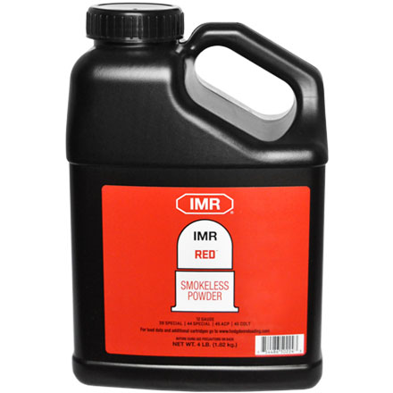 Image for Hodgdon IMR Red Smokeless Powder 4 Lb