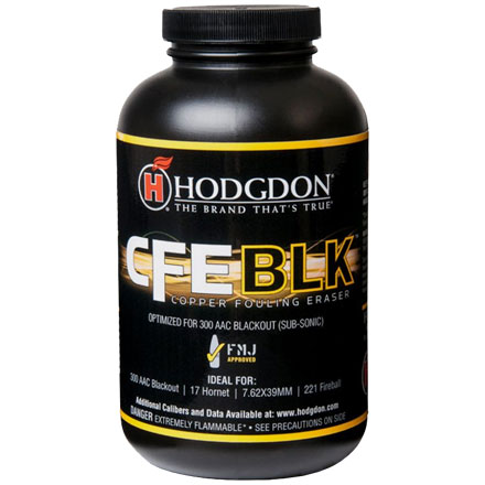 Hodgdon CFE BLK Smokeless Powder 1 Lb