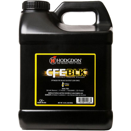 Hodgdon CFE BLK Smokeless Powder 8 Lb