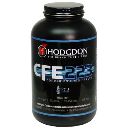 ' alt='Hodgdon CFE223 Smokeless Powder 1 Lb' />