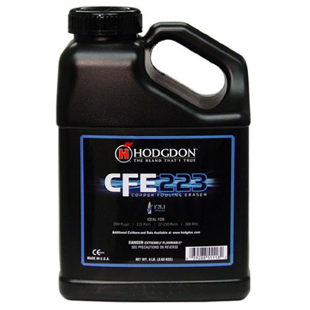 Hodgdon CFE223 Smokeless Powder 8 Lbs