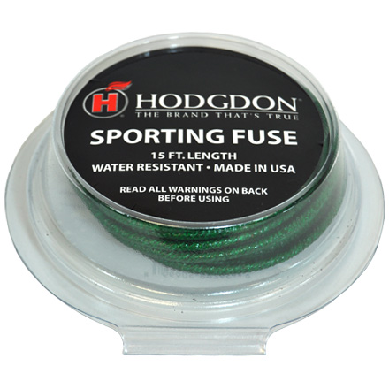 Sporting Fuse 15 Foot Roll Water Resistant, Lacquered