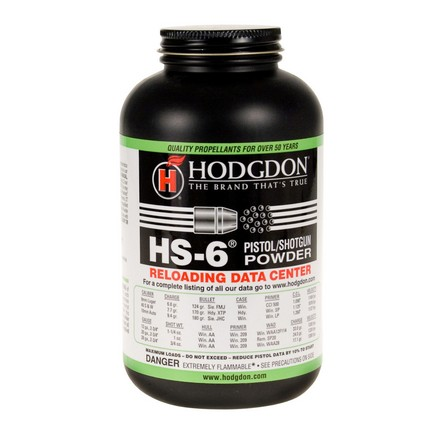 Hodgdon HS6 Smokeless Powder 1 Lb
