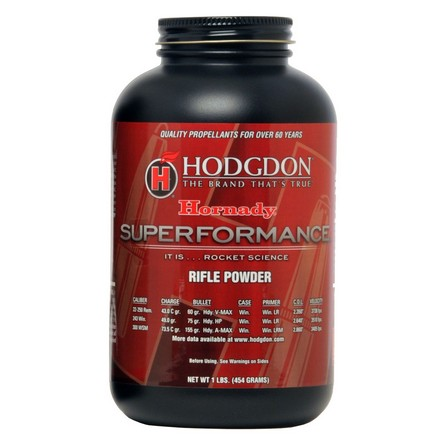 Hodgdon Superformance Smokeless Powder 1 Lb