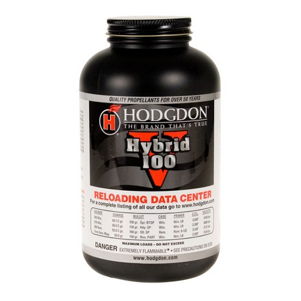 Hodgdon Hybrid HY100 Smokeless Powder 1 Lb