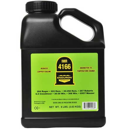 IMR 4166 with ENDURON Technology Smokeless Powder 8 Lbs