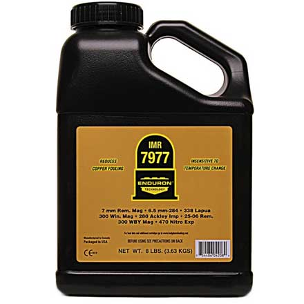 IMR 7977 with ENDURON Technology Smokeless Powder 8 Lbs