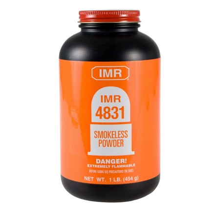 ' alt='IMR 4831 Smokeless Powder 1 Lb' />