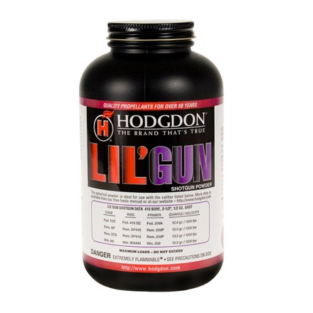 Hodgdon Lil' Gun Smokeless Powder 1 Lb