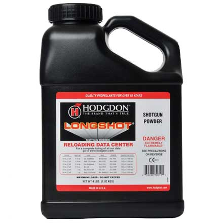 Hodgdon Longshot Smokeless Powder 4 Lb