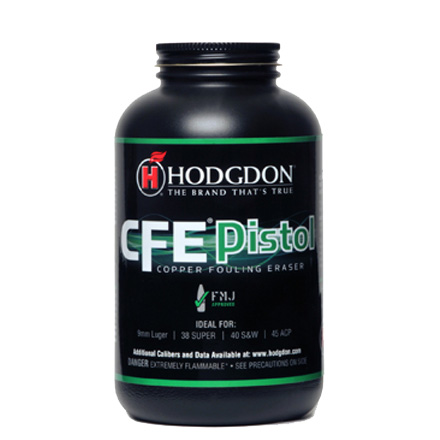 Hodgdon CFE Pistol Smokeless Powder 1 Lb