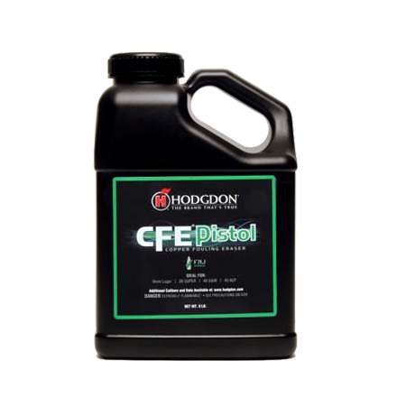 Hodgdon CFE Pistol Smokeless Powder 8 Lb