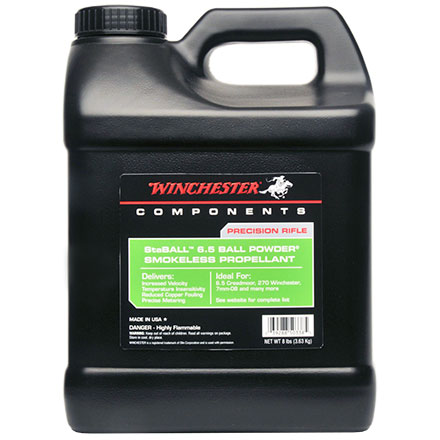 Winchester StaBALL 6.5 Smokeless Powder 8Lb