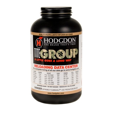 Hodgdon Titegroup Smokeless Powder 1 Lb