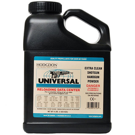 Hodgdon Universal Clays Smokeless Powder 4 Lb