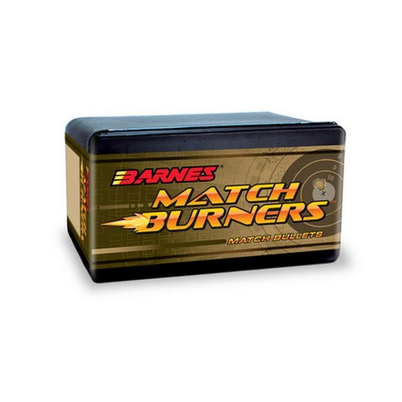 Match Burner 22 Caliber .224 Diameter 52 Grain Flat Base 100 Count
