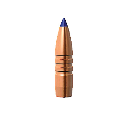 Image for 22 Caliber .224 Diameter 62 Grain Tipped Triple Shock X Bullet Boat Tail 50 Count