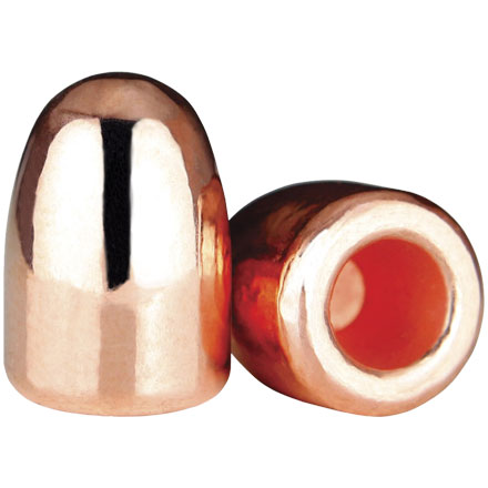 45 Caliber .452 Diameter 185 Grain Hollow Base Round Nose Plated 500 Count