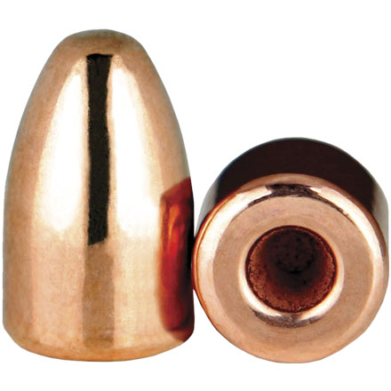 9mm .356 Diameter 124 Grain Hollow Base Round Nose Thick Plate 250 Count