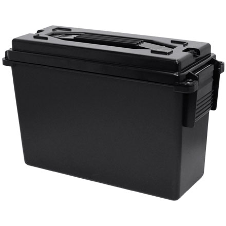 Image for 40 Caliber Plastic Ammo Box  Ammo Can Black