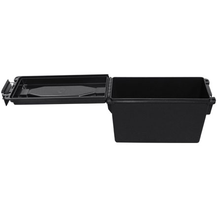 40 Caliber Plastic Ammo Box  Ammo Can Black