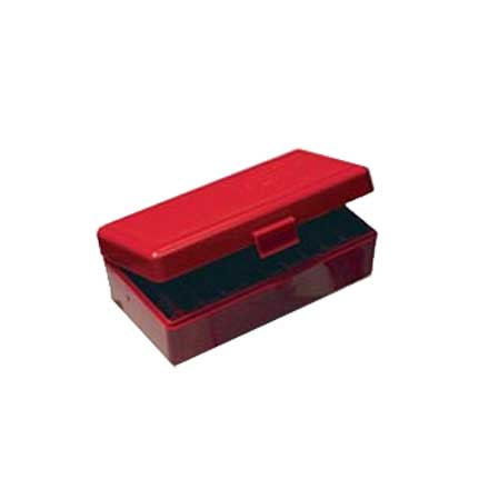 Flip Top 50 Round Ammo Box 222/223 Red
