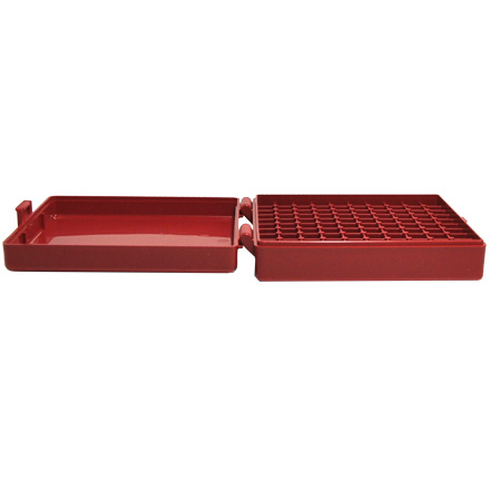 Hinged Top 100 Round Ammo Box 380/9mm Red