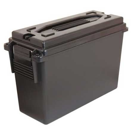 30 Caliber Plastic Ammo Box  Ammo Can