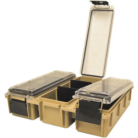 Tri-Can Utility Box Ammo Can Tan