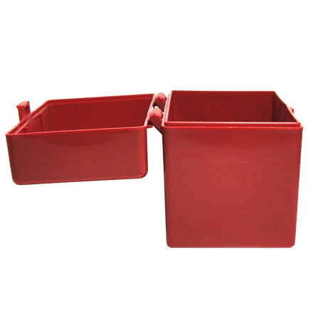 Hinged Top 50 Round Ammo Box 270/30-06 Red