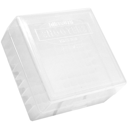 Image for Hinged Top 100 Round Ammo Box 222/223 Clear