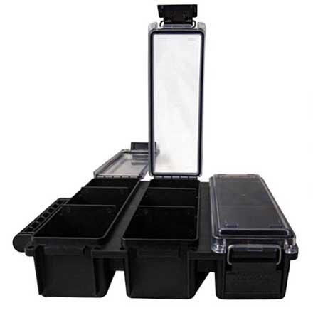 Tri-Can Utility Box Ammo Can Black