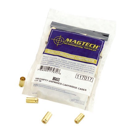 Image for .380 Auto Unprimed Pistol Brass 100 Count