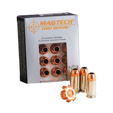 Image for 380 Auto 77 Grain First Defense Solid Copper Hollow Point 20 Rounds