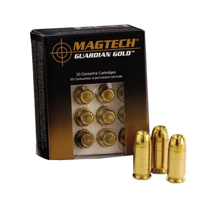 Image for 9mm Plus P 124 Grain Guardian Gold Jacketed Hollow Point 20 Rounds