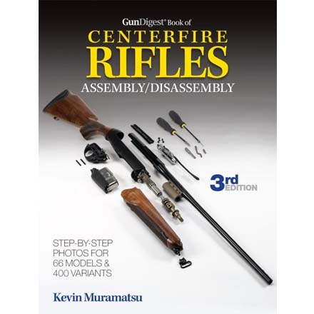 Image for Gun Digest Book of Centerfire Rifles Assembly/Disassembly 3rd Edition