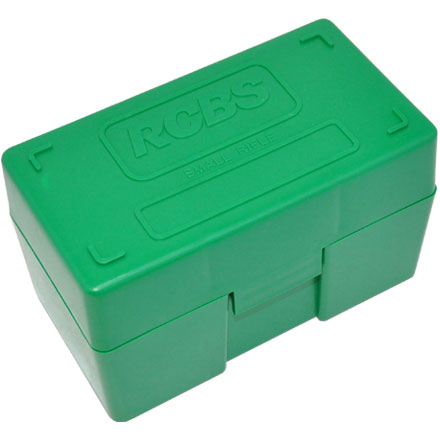 Image for Small Rifle Ammo Box (50 Rounds)