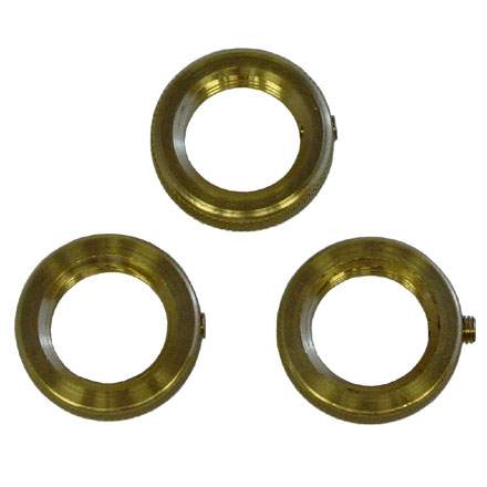 Cowboy Brass Die Lock Ring 3 Count By Rcbs