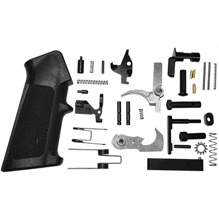 AR15 Lower Parts Kit with Stainless Steel Hammer and Trigger