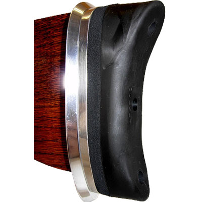 "Premium Curved Recoil Pad Long 1.9""x5.3"" Butt Plate"