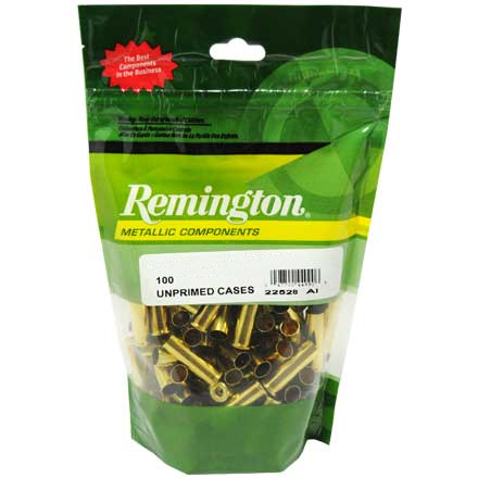 41 Remington Magnum Unprimed Pistol Brass 100 Count