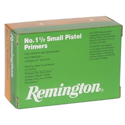 1 1/2 Small Pistol Primer (1000 Count)